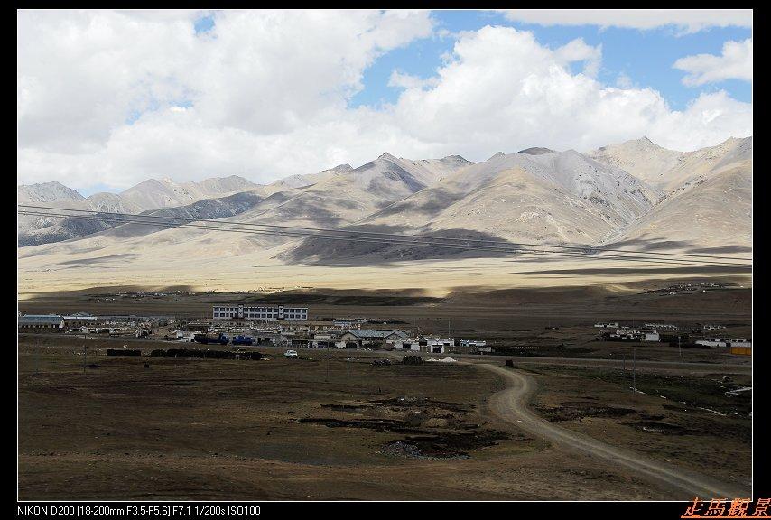 青藏高原之行____青藏铁路沿线风景2