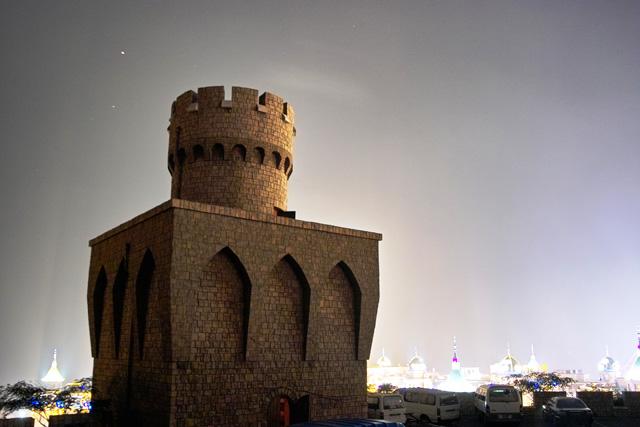 欧式童话城堡门头