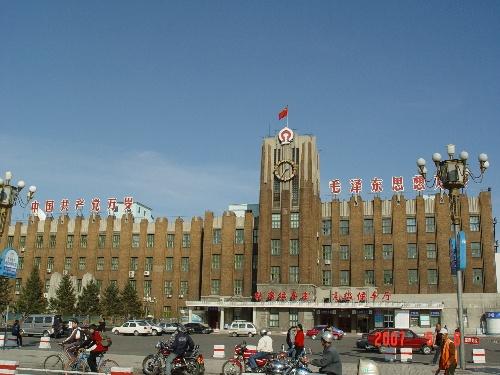 齐齐哈尔火车站 老站
