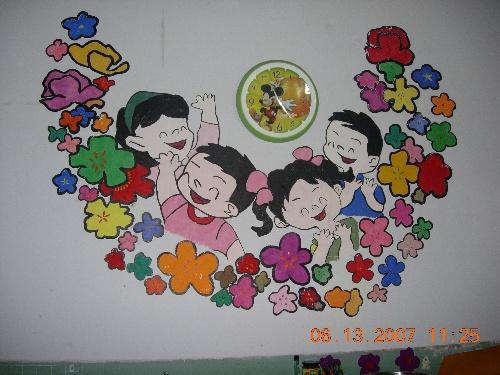 幼儿园墙饰展示(1)