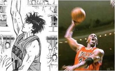 灌篮高手与NBA明星图片
