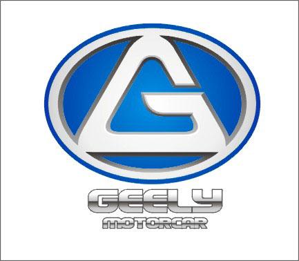 """利用吉利英文字母""""geely""""为基调"""