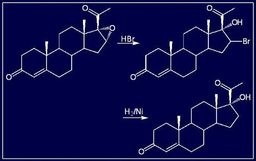 ⑤因异丙醇铝可与水反应,所以oppenauer氧化应在无水条件下进行.