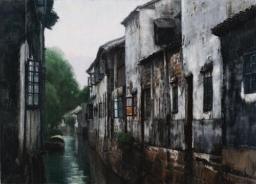 冷军油画作品欣赏风景