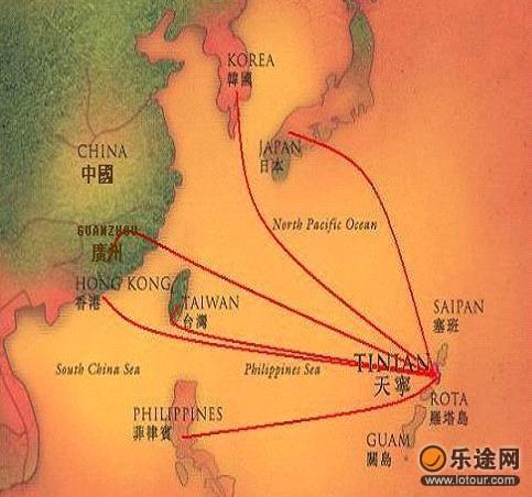 塞班岛地图中文版医院